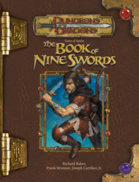 Tome of Battle: The Book of Nine Swords