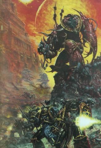 Демон предвожда силите на хаоса
