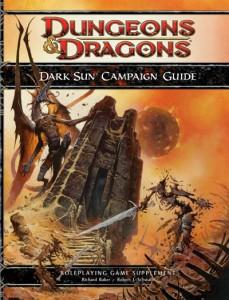 Dark Sun 4e cover